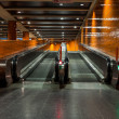 Escalators in an underground station, Berlin — Stock Photo