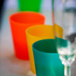 Plastic cup — Stock Photo