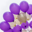 Stock Photo: Floating balloons