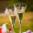 Champaign flutes — Stock Photo #30687445
