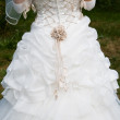 Stock Photo: Wedding gown