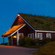 Scandinavian house — Stock Photo