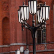 Old lamp post — Stock Photo