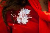 İpek çiçek — Stok fotoğraf
