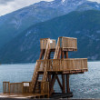 Stock Photo: Diving platform