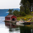 Stock Photo: Boat shed