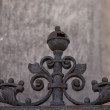 Iron ornament — Stock Photo
