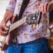 Guitar tuning — Stock Photo