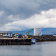 Stock Photo: Harbor at Djupivogur, Iceland