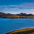 Wide river bed near Landmannalaugar — Stock Photo