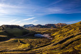 Rough landscape near Landmannalaugar — Stock Photo
