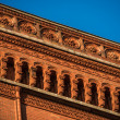 Red town hall in Berlin — Stock Photo