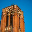 Church tower in Berlin — Stock Photo