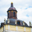 Roof with turret in Berlin — Stock Photo