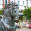Horse statue in Berlin — Stock Photo