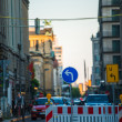Road in Berlin — Stock Photo