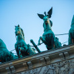 Berlin Brandenburg Gate — Stock Photo