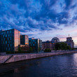 Berlin government district — Foto Stock