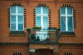 Facade in Berlin — Stock Photo