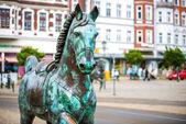статуя лошади в берлине — Стоковое фото