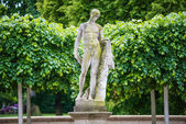 Male statue in Berlin — Stock Photo