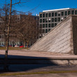 Berlin Wall Memorial Invalidenstrasse — Stock Photo
