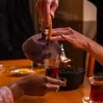 Oriental tea-time — Stock Photo