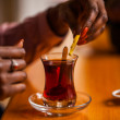 Oriental tea-time — Stockfoto