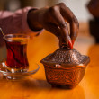 Oriental tea-time — Stock Photo