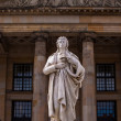 Friedrich Schiller statue — Stock Photo