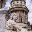 Statue at Gendarmenmarkt — Stock Photo