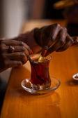 Oriental tea-time — Stok fotoğraf
