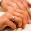Couples hands — Stock Photo