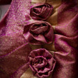 Detail of a dress — Stock Photo