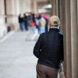 Person waiting — Stock Photo