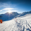 Stock Photo: Ski slope