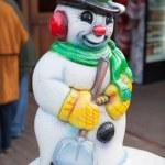 Snowman — Stock Photo