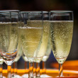 Champaign glasses — Stock Photo #33068691