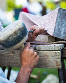Stonemasonry — Stock Photo