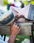 Stonemasonry — Stock Photo