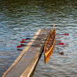 Stock Photo: Rowing boat
