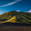 Mountain peak in Iceland — Stockfoto