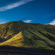 Mountain peak in Iceland — 图库照片