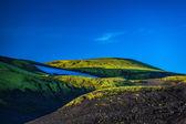 Rangy paysage à landmannalaugar — Photo