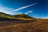 Rangy paisaje en landmannalaugar — Foto de Stock