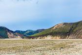 Rangy landscape at Landmannalaugar, Iceland — Stock Photo