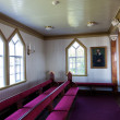 Interior shot of Husavik Church, Iceland — Stock Photo #39188793