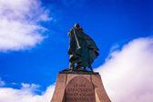 Leif Erikson Statue in Reykavik — Stock fotografie