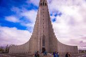 église hallgrimskirkja à reykjavik — Photo