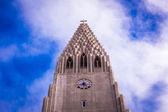 Kościół hallgrímskirkja w reykjaviku — Zdjęcie stockowe